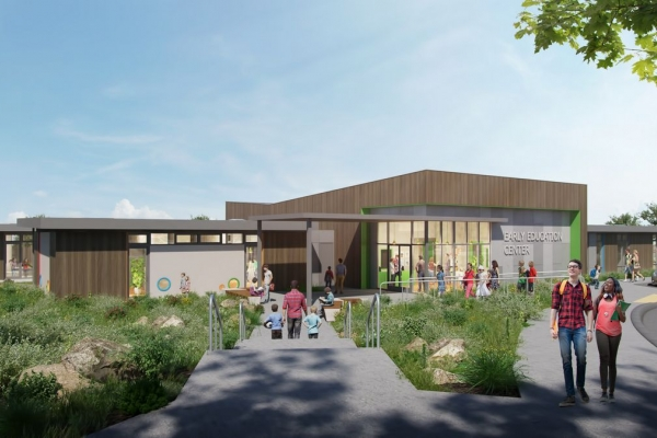 Early Education Center UC Santa Cruz Rendering
