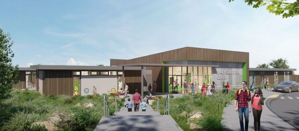 UC Santa Cruz Early Education Center Rendering